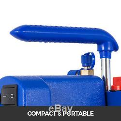 1 / 3hp Pompe À Vide Hvac Réfrigération Ac Manomètre R134a R410a Kit R22