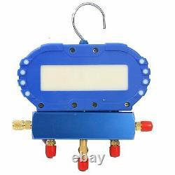 1/4hp Rot Vane Deep Vacuum Pump 3.5cfm R410a R134 Hvac Ac Réfrigérant Charge