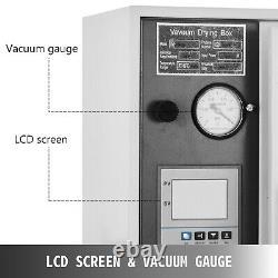 1.9cu Ft Four De Séchage 9 Cfm 2-stage Vacuum Pump 133pa Digital 1400w Power 5 Tray
