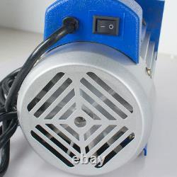 110v 5 Gallon Chambre À Vide 3 Cfm Pompe À Une Étape Dégazage Silicone Kit Bon