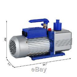 12cfm 2 Étapes 1hp Pompe À Vide Réfrigérant Air Condition Fonctionnement 110v / 50hz