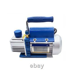 2.12cfm 150w Rotative Vane Vacuum Pump With Gauge & R134a Connector Air Conditioning 2.12cfm 150w Rotary Vane Vacuum Pump With Gauge & R134a Connector Air Conditioning 2.12cfm 150w Rotary Vane Vacuum Pump With Gauge & R134a Connector Air Conditioning