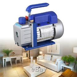 2,5cfm 1 Bistadio 1 / 4hp Pompa Par Vuoto Del Condizionatore D'air De Réfrigération