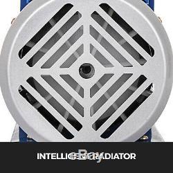 2.5cfm Pompe Aspirateur 1,5 Gallons Aspirateur Chambre 0,5 Pa Outil Dégazage Silicone