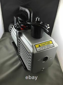 2 Étape 7 Cfm Pompe À Vide 114/min Dessiccateur À Vide 2vp260 3/4hp 230 Volt 50hz