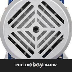 2 Gallon Vacuum Chamber 5cfm Vacuum Pump 2 Stage Deep Vane Manifold Degassing