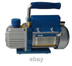 220v/50hz 1/4hp 3/8 2.5cfm Vacuum Pump 1 Stage Rotary Vane Electric Vacuum Pump