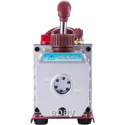4.5cfm Pompe À Vide Rotative À Un Étage Cvc/auto Ac 4.5cfm 1/3hp 1/2acme Entrée