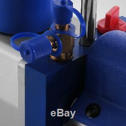 4.8cfm 1 / 3hp Rotatif Pompe À Vide 1 / 3hp Et A / C Manifold Gauge R22 R134a R410a