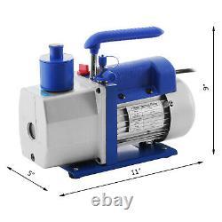 4.8cfm Pompa Per Vuoto Pompa Del Vuoto Manometro Strumento 245w 5pa 250ml