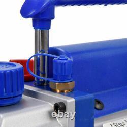 4 Cfm 1 Étape Pompe À Vide Rotatif Vane CVC 1/4hp Climatisation Ac R134a R410a