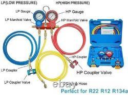 4cfm 1/3 HP Pompe À Vide Hvac A/c Kit D'outils De Réfrigération Ac Réparation Automatique