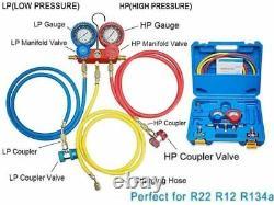 4cfm 1/3hp Pompe À Vide D'air Hvac A/c Kit D'outils De Réfrigération Ac, Réparation Automatique