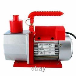 5 Cfm 2stage Rotary Vane Vacuum Pump Cvac Vacuum Pump Ac Refrigerant Vacuum Pump