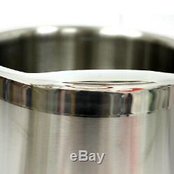 5 Gallon Vide Dégazage Chambre Silicone Kit & 5 Cfm Étape Simple Pompe Flexible