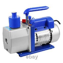 6cfm 2 Stage Réfrigérant Pompe À Vide Thermoformage Réfrigération Sous Vide Emballage