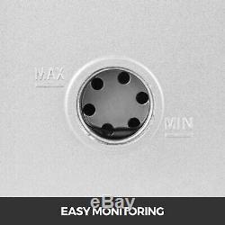 8cfm 2-stage Refrigera Pompe À Vide Rotative À Palettes 1hp Ac R134a R410a 500 ML Hvac