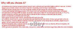 Ai 110v 5 Faces Ul / Csa Certifié 1.9 Cf Four À Vide Avec Easyvac 9 Cfm Pompe