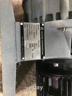 Ai Cleanvac 5.1 Cfm 60 Micron Huile Sans Huile Pompe À Vide À Défilement Sec