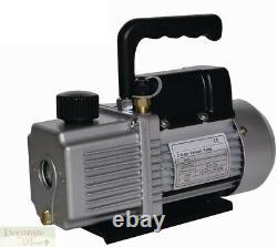 Aspirateur Pompe À Air Réfrigération 9.0 Cfm 2 Étape 1 HP Cvac/r 110v Nouveau