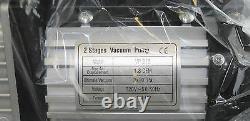 Brand New Double 2 Etape 1.8 Cfm Réfrigération Pompe À Vide 114l / Min Vp215