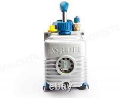 Brand New Value 4.5cfm 2 Étapes Réfrigérant Pompe À Vide Climatisation Ve245n