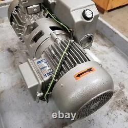 Busch A0025-7005 Pompe À Vide, 20cfm, 1.1kw Motor, 208/460vac Used