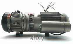 Busch Rb0021. S015.1026 Pompe À Vide Rotative Vane 12cfm 2.0 Torr 3/4npt 120vac