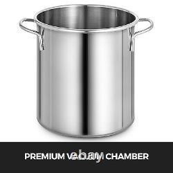 Chambre À Vide De 3 Gallons + 3,6 Cfm Pompe À Un Étage Pour Dégazer Kit De Silicone