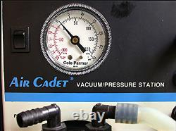 Cole Parmer Air Cadet Station De Pression Sous Vide Mod7059-40 Industrie Médicale Cfm 0.54