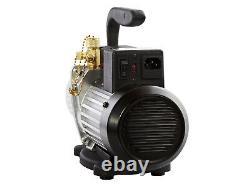 Cps Pro Set Premium Series 2 Cfm Vacuum Pump Vp2d Two Stage Double Voltage