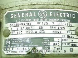 Edwards E2m2 Vane Rotative Pompe À Vide Double 2 Étages 1,5cfm 1/3ch 3ph 230/460v