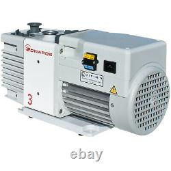 Edwards Rotary Vane Vacuum Pumps For Freeze Dryers Rv3 Air Displacement 2.7cfm Edwards Rotary Vane Vacuum Pumps For Freeze Dryers Rv3 Air Displacement 2.7cfm Edwards Rotary Vane Vacuum Pumps For Freeze Dryers Rv3 Air Displacement 2.7cfm Edwards Rotary