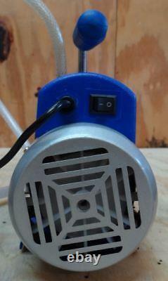 Étoile 1 Étape Pompe À Vide # Rs-1 3cfm 110v 1/4 HP & Bienzumbado Bees Wax Chambre