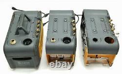Fieldpiece Vp55 5cfm Hvac Runquick Oil 2 Étages 1/3hp Pompe À Vide Pièces Lot 3