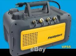 Fieldpiece Vp55 À Deux Étages De 5 Cfm Pompe À Vide