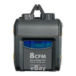Fieldpiece Vp85 3/4 HP 8 Cfm, Pompe À Vide Withrunquick Système De Changement D'huile