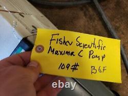 Fisher Scientific Maxima C Pompe À Vide D16b Xp 13,4cfm 1 X 10-4 B6f