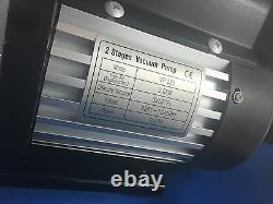 Flambant Neuf Double 2 Étape 3 Cfm Pompe À Vide De Réfrigération Vp225 1/3hp