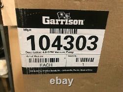 Garrison 104303 4.0 Pompe À Vide À Deux Étages Cfm