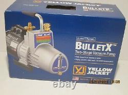 Gilet Jaune 93600 Bullet-x 585-596 7 Cfm Vacuum Pump-2-stage, Nisb F/ship 2020