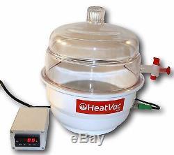 Heatvacxl Plus De La Pompe Chauffée Vac Extrait Degas Solvant De Concentré De Purge D'huile