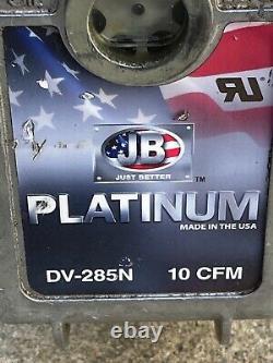 Jb Industries Dv-285n Platinum 10 Cfm Pompe À Vide Pompe À Air CVC