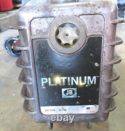Jb Industries Dv-85n 3 Cfm Premium Platinum Vide / Refrig Pompe D'évacuation