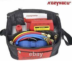 Kit D'outils Complet De Réparation Auto Ac Avec Une Pompe À Vide De 3,5 Cfm De 1 Étage