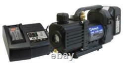 Mastercool 90058-aut 1.5 Cfm Cordless Vacuum Pump Complete Kit (90058aut)