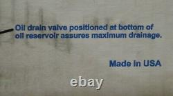 Mastercool 90060 Pompe À Vide A/c 1,5 Cfm 1/6 HP 3450 RPM Deux Étapes Fabriquées Aux États-unis