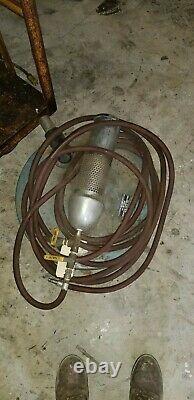 Nortech Vacuum System Model 551b Pneumatic 55 Gal. Débit D'air Sous Vide De Tambour 89 Cfm