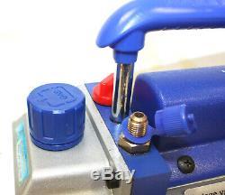 Nouveau 1 Etape Électrique Réfrigérant 2.5cfm Pompe Vacuum Hvac 1/4 HP