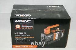 Nouveau, Scellé Navac Master Series Np2dlm Pompe À Vide Sans Fil 2cfm